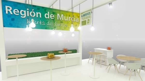 Nota/ La Comunidad Duplica Su Espacio Institucional En La Feria Internacional Má