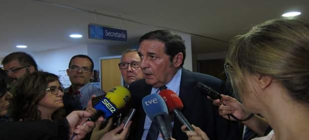 Segovia.- Sáez Aguado atiende a los medios