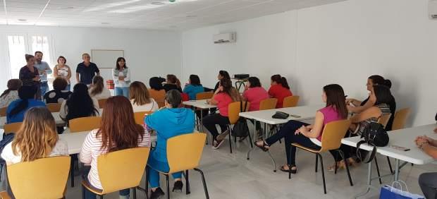 En Cantoria, 21 mujeres se han formado en atención sociosanitaria a dependientes