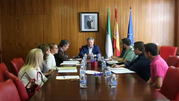 Reunión de coordinación de violencia de género