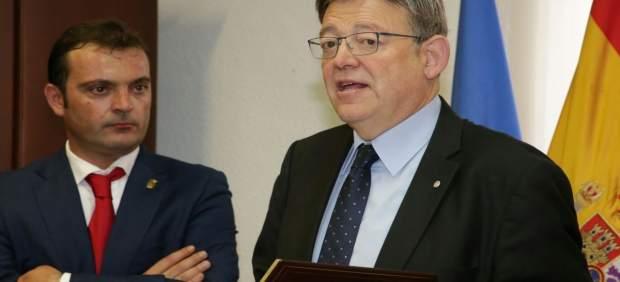 El jefe del Consell, en un acto en Peñíscola