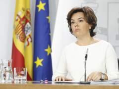 El PSOE retira la reprobación a la vicepresidenta por el 1-O