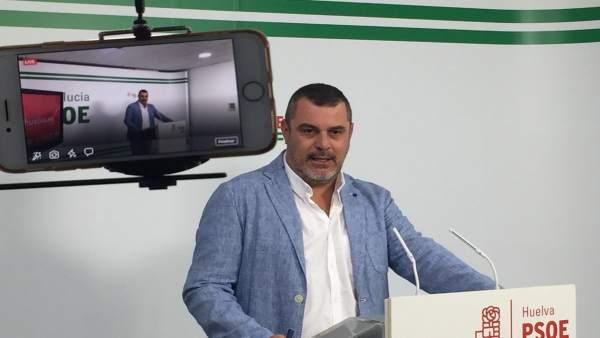 Jesús Ferrera, en rueda de prensa.