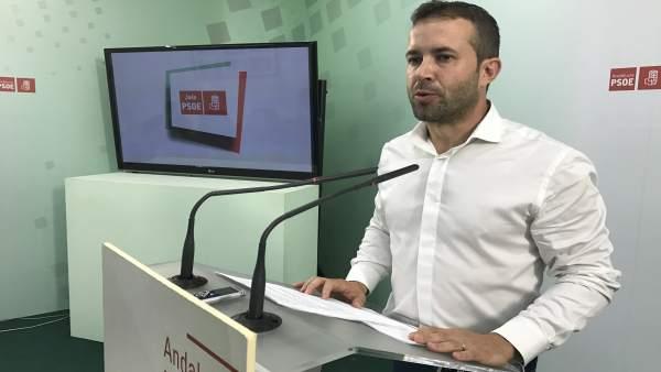 El parlamentario del PSOE de Jaén Julio Millán.