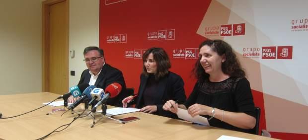 María Pierres, José Manuel Pérez Seco y Rosa ARcos