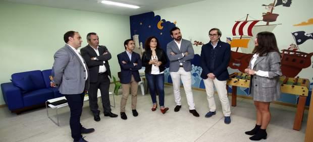 El conselleiro José Manuel Rey Varela en un acto en Lugo.