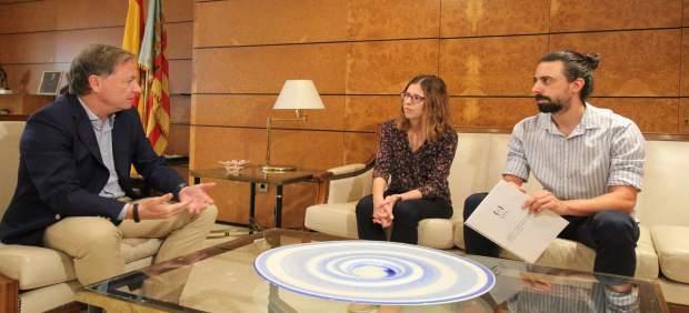 Moragues consultarà a la Unió de Periodistes mesures de protecció per a reporters davant manifestacions de risc