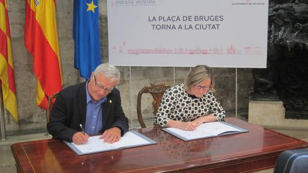 L'aparcament de la plaça de Bruges i l'Alqueria del Moro, aprovats en la Junta de Govern