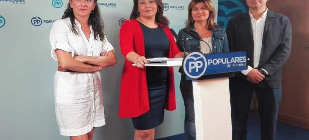 El PP comenta los presupuestos de la Junta para Almería
