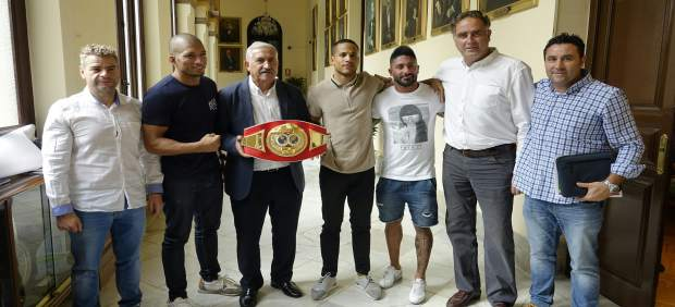 Presentación de boxeo en Málaga