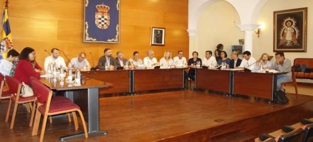Pleno del Ayuntamiento de Moguer.
