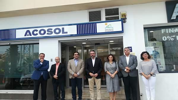 Nueva oficina Acosol en Mijas
