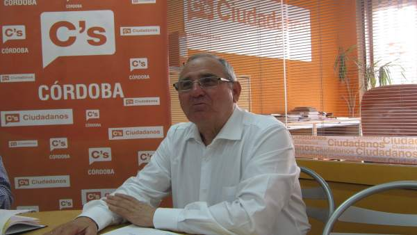 El portavoz de Cs en la Diputación de Córdoba, José Luis Vilches