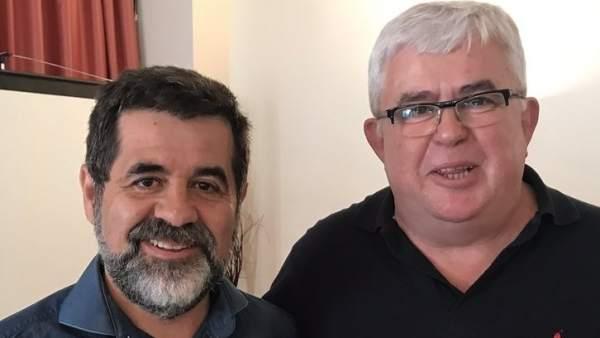 Jordi Sànchez y Agustí Alcoberro