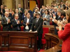 El Gobierno vio en la respuesta de Puigdemont su clara voluntad de secesión
