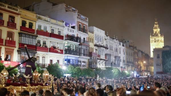 Procesión, Madrugá, Gran Poder, Semana Santa, Sevilla
