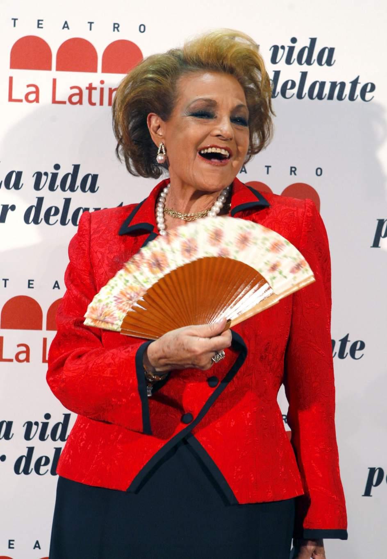 Carmen Sevilla cumple este lunes 87 años sin cambios en su salud