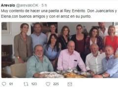 Arévalo, Bertín y el rey Juan Carlos