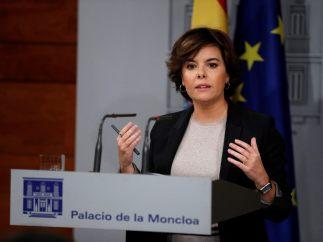 Soraya responde a Puigdemont