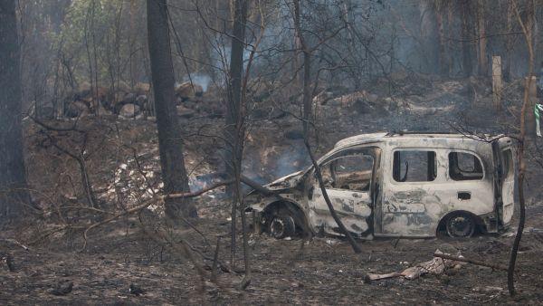 Al menos cuatro muertos en los fuegos de Galicia
