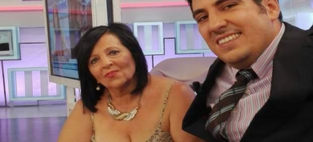 Pilar Abel junto a su abogado Enrique Blánquez