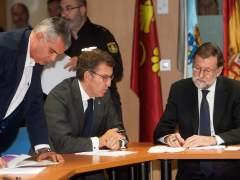 """Rajoy confirma que los incendios """"han sido provocados"""""""