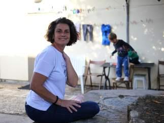 Laura, licenciada, con tres carreras y dos hijos, pero en la pobreza