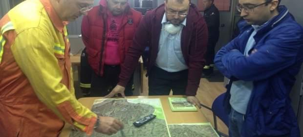 Adrián Barbón visita zonas afectadas por los incendios