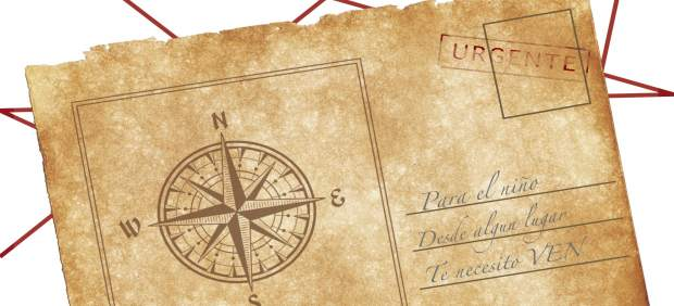 Cartel de la obra 'Postales para un niño'