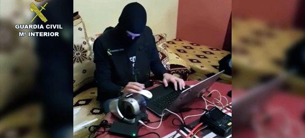 Revisando equipo informático