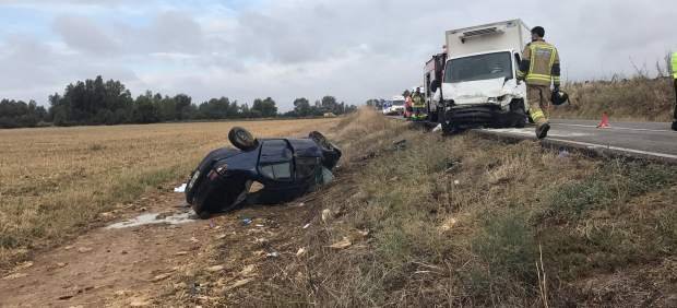 Accidente Badajoz