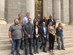 Paros en varias ciudades de Cataluña en protesta por la prisión de Sánchez y Cuixart