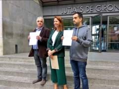 El Ayuntamiento de Girona, Òmnium y ANC presentan una denuncia contra el Estado