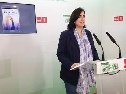 La candidata socialista a la Alcaldía de Aljaraque, Yolanda Rubio.