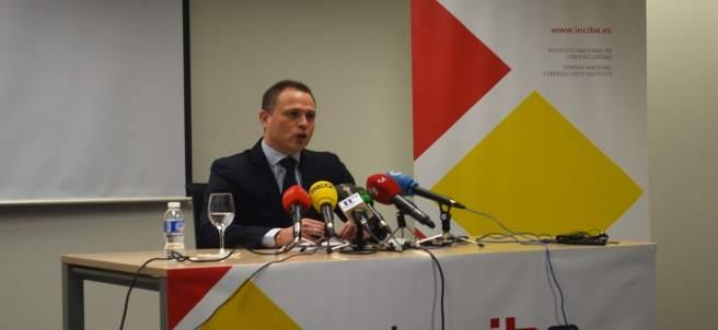 Alberto Hernández, durante la presentación de ENISE.
