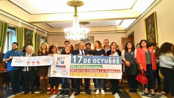 Dia internacional de lucha contra la pobreza y la exclusión en Oviedo
