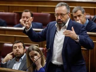Juan Carlos Girauta, portavoz de Ciudadanos en el Congreso de los Diputados.