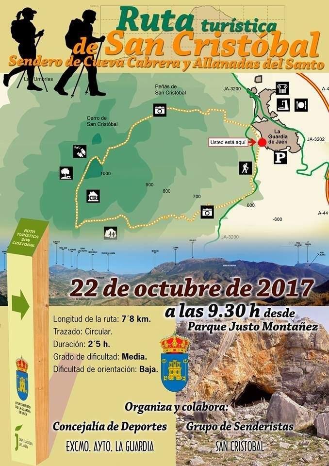 Turismo la guardia de ja n estrena este domingo la ruta for Oficina de turismo laguardia