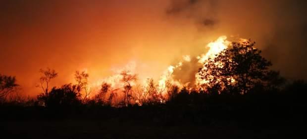 Incendio forestal este lunes en la Serra de San Mamede