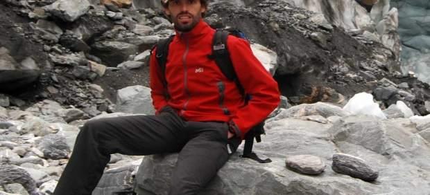 El geólogo y alpinista Luis Carcavilla