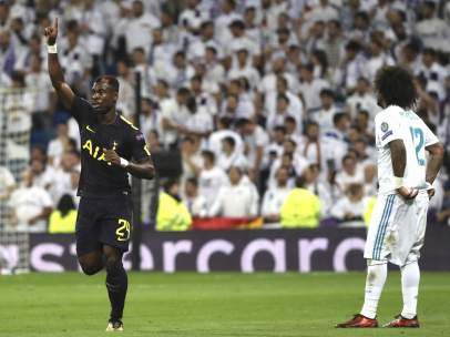 Aurier y Marcelo