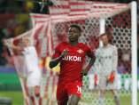Durísima derrota del Sevilla en Moscú ante el Spartak