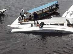 Un muerto al caer un avión de Greenpeace en la Amazonía