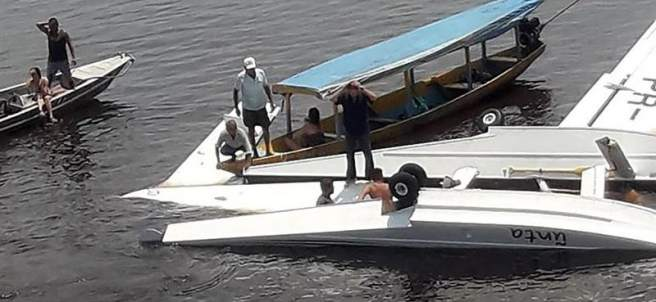 Acidente de un hidroavión de Greenpeace