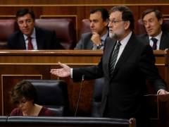 """Rajoy avisa de que está """"obligado"""" a usar el 155 si Puigdemont no da un paso atrás"""
