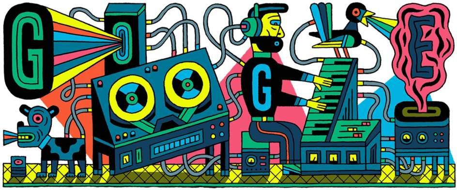 Google rinde tributo al primer estudio de música electrónica