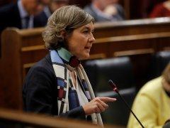 Isabel García Tejerina, en el Congreso