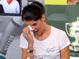 Beitia, retirada entre lágrimas