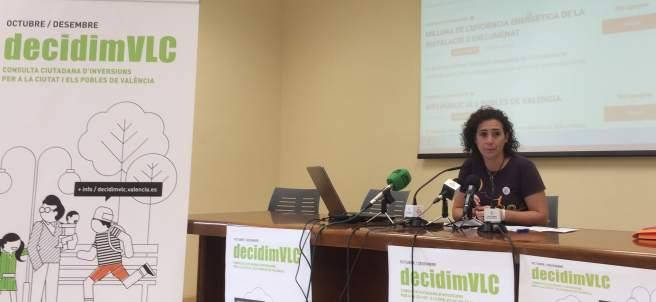 Tercera consulta ciudadana de inversiones en la ciudad de València
