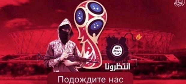 Amenaza de Estado Islámico al Mundial